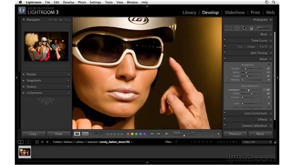 Introducing noise reduction: Lightroom 3 New Features