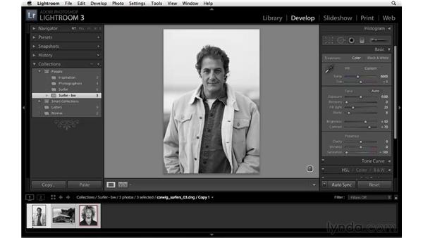 Using the Collections panel: Lightroom 3 New Features