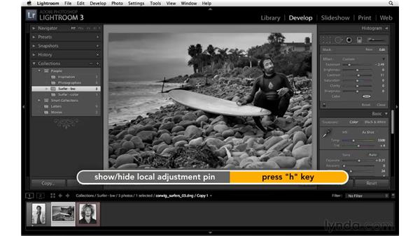 The Graduated filter: Lightroom 3 New Features