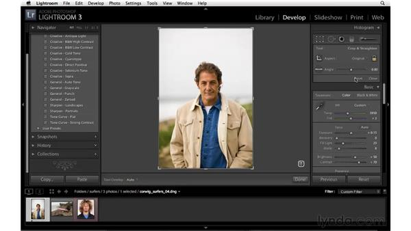 Improvements to the Crop tool: Lightroom 3 New Features