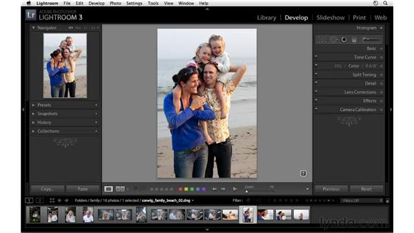 Quickly changing crop orientation: Lightroom 3 New Features