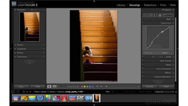 Improving images with the Point Tone Curve: Lightroom 3 New Features