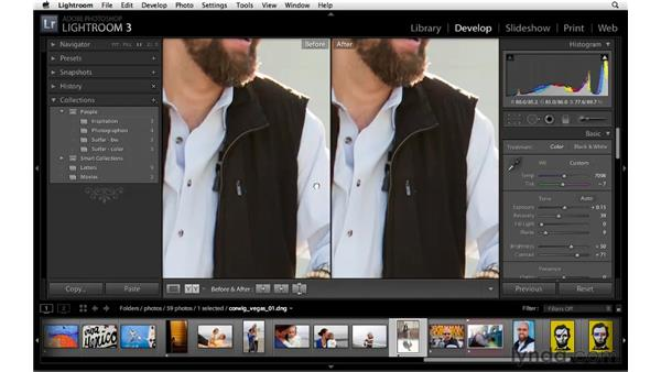 Working with legacy Lightroom files: Lightroom 3 New Features