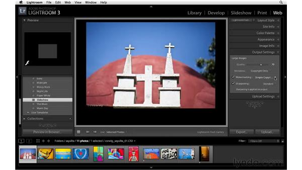 Making creative watermarks: Lightroom 3 New Features