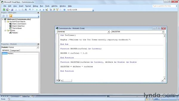 Welcome: Up and Running with VBA in Excel