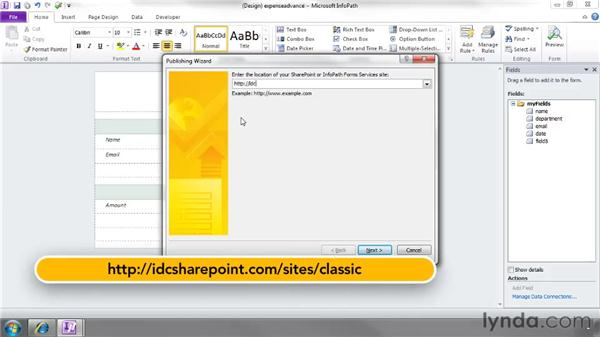 SharePoint and InfoPath: SharePoint 2010 Essential Training