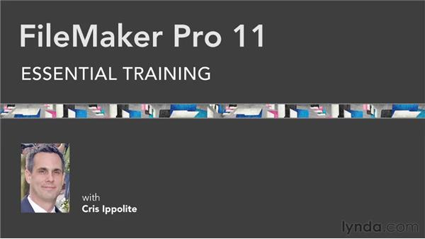 Goodbye: FileMaker Pro 11 Essential Training