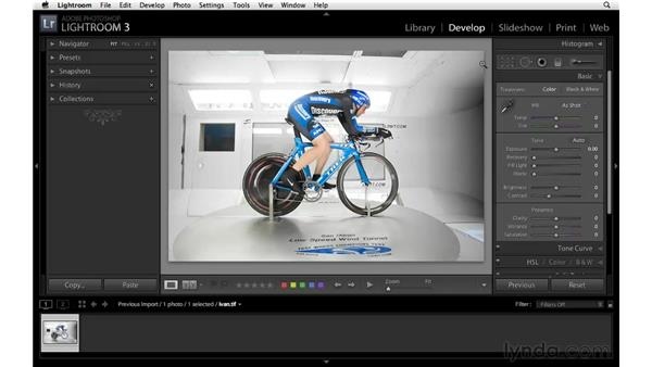 Lightroom and Photoshop: Lightroom 3 Essential Training