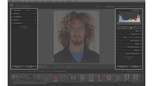 Essential interface shortcuts: Lightroom 3 Essential Training