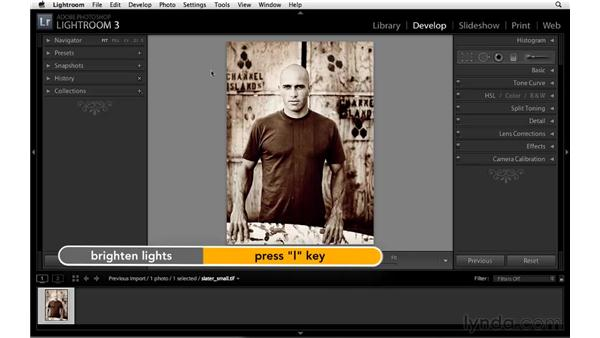 Modifying other interface preferences: Lightroom 3 Essential Training