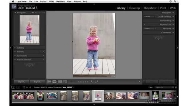 Navigating and zooming: Lightroom 3 Essential Training