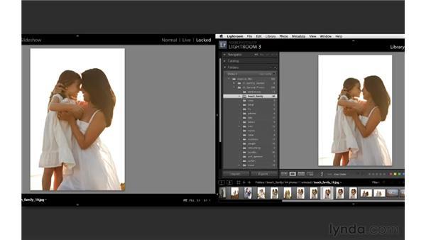 Using dual monitors: Lightroom 3 Essential Training