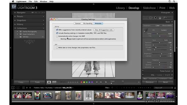 Working with raw files in Lightroom: Lightroom 3 Essential Training