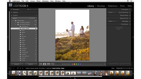 Introducing flags, stars, and labels: Lightroom 3 Essential Training