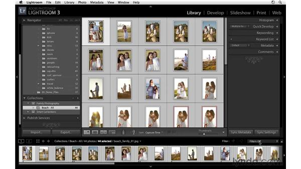 Integrating collections with your workflow: Lightroom 3 Essential Training