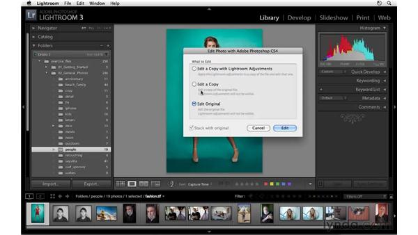 Working with a CMYK photo: Lightroom 3 Essential Training