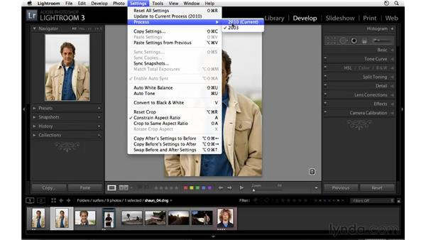 Working with legacy Lightroom files: Lightroom 3 Essential Training