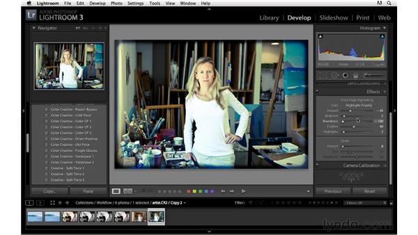 Workflow project: Portrait details: Lightroom 3 Essential Training