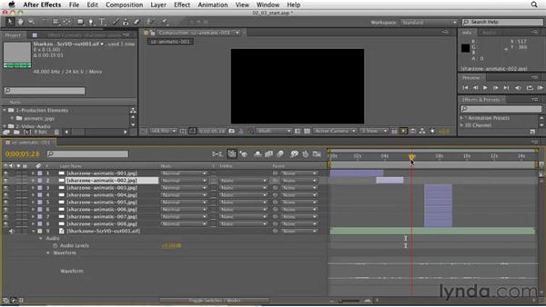 Timing out the animation: CINEMA 4D: Designing a Promo