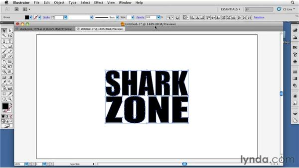 Creating text and logo elements in Adobe Illustrator: CINEMA 4D: Designing a Promo
