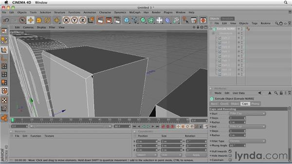 Importing Illustrator elements into Cinema 4D: CINEMA 4D: Designing a Promo