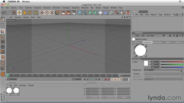 Creating guide planes for modeling a rough shark: CINEMA 4D: Designing a Promo