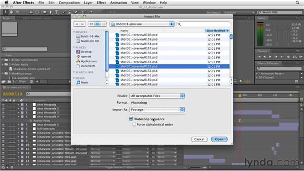 Creating a preview movie and importing it into After Effects: CINEMA 4D: Designing a Promo