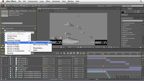 Updating the cameramatic with the final animation: CINEMA 4D: Designing a Promo