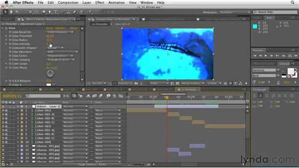 Assembling the final composition: CINEMA 4D: Designing a Promo