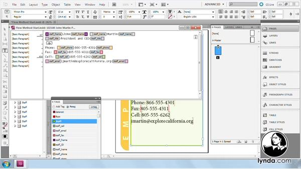 Welcome: InDesign CS5: Dynamic Publishing Workflows in XML