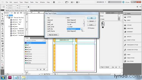 Building multipart Flow layouts from scratch: InDesign CS5: Dynamic Publishing Workflows in XML