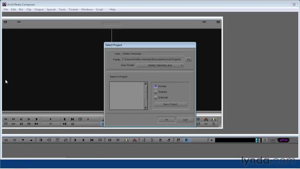 Using the exercise files: Avid Media Composer 5 Essential Training