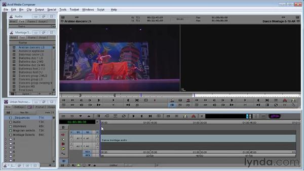 Adding shots using Splice: Avid Media Composer 5 Essential Training