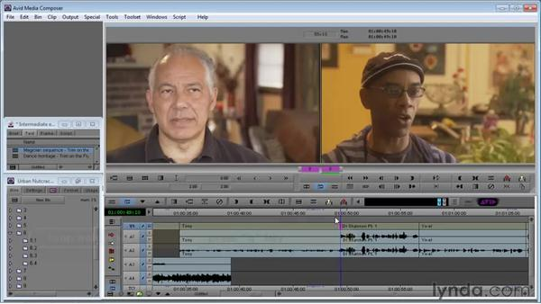 On-the-fly trimming: Avid Media Composer 5 Essential Training