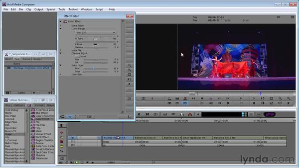 Using the Color effect: Avid Media Composer 5 Essential Training