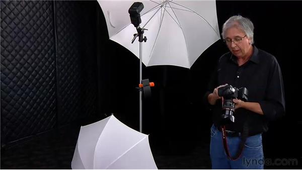 Using two flashes on one light stand for a fashion portrait (over/under lighting): Photo Assignment: Off-Camera Flash
