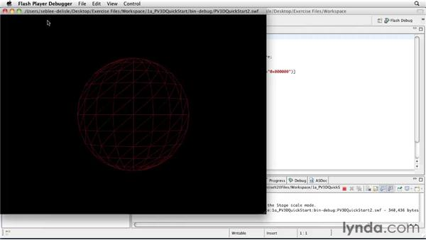 Using the exercise files: Papervision3D 2 Essential Training