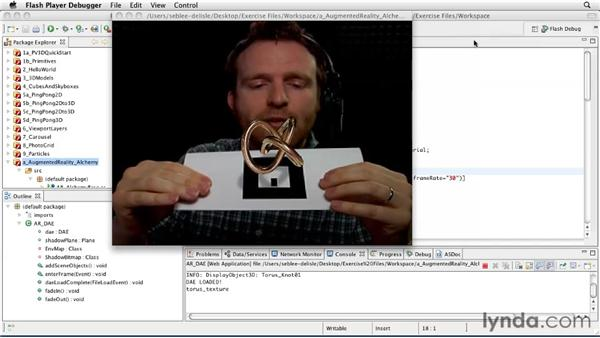 Introducing Augmented Reality and FLARToolKit: Papervision3D 2 Essential Training