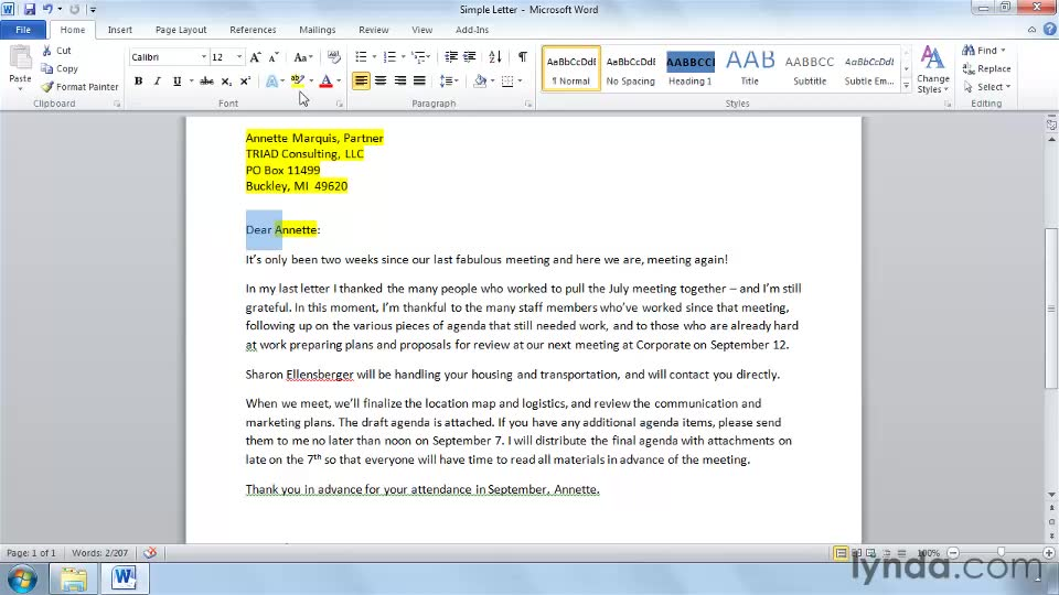 Creating a simple letter for mail merge stopboris Images