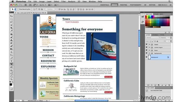 Customizing a web workspace: Photoshop CS5 for the Web