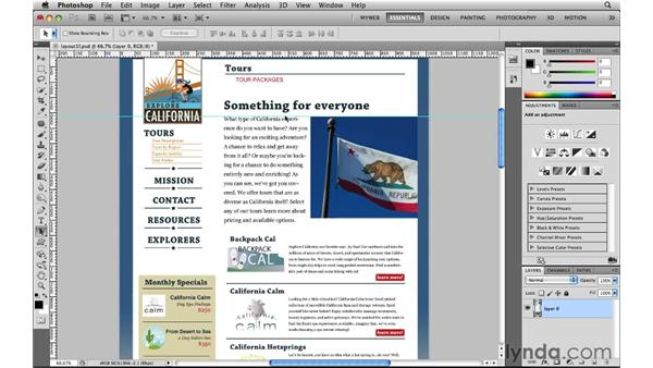 Setting preferences for the web: Photoshop CS5 for the Web