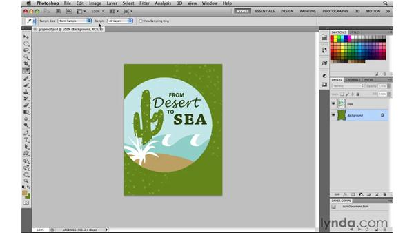 Other color selection methods: Photoshop CS5 for the Web