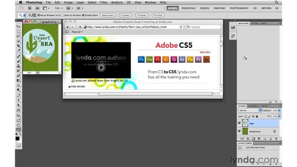 Working with custom swatches: Photoshop CS5 for the Web