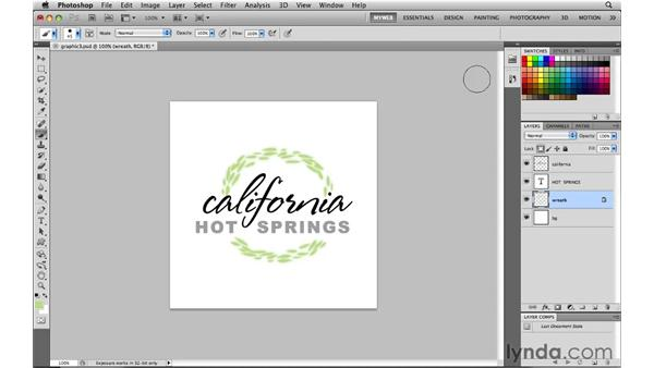 Recoloring a web graphic: Photoshop CS5 for the Web