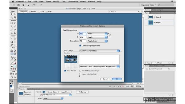 Integrating with Fireworks: Photoshop CS5 for the Web