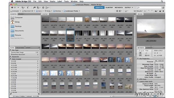 Making selects : Photoshop CS5: Landscape Photography