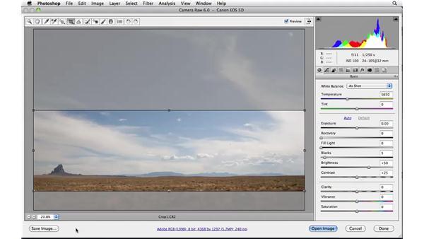 Nondestructive editing : Photoshop CS5: Landscape Photography
