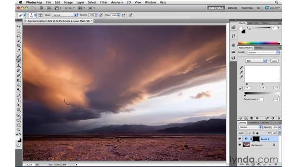 Using Levels adjustment layers: Photoshop CS5: Landscape Photography