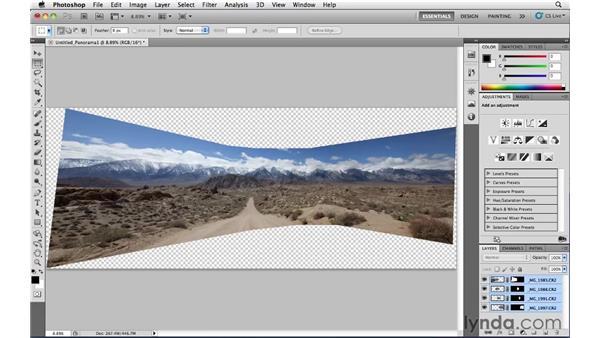 Stitching: Photoshop CS5: Landscape Photography