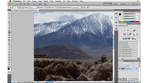 Panoramic touchup: Photoshop CS5: Landscape Photography